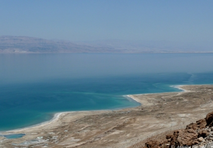 Israel - Dead Sea depression - 375 m deep