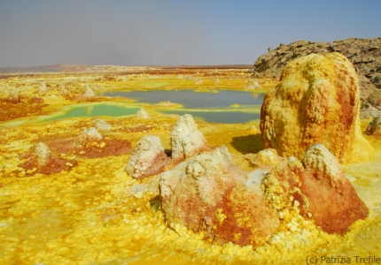 Sulphur deposits