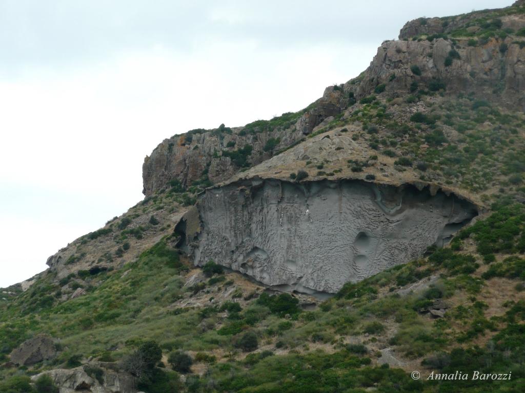 Italy - Sardegna - Sa Rocca Pinta - Tufi grigio azzurri