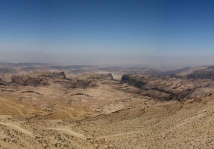 Jordan - Petra - Heights Plateau - Altopiano giordano